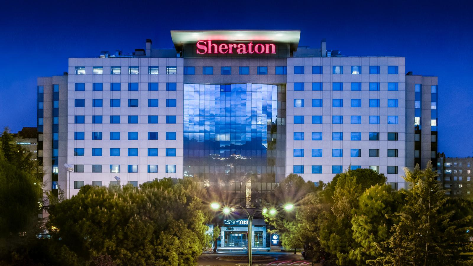 Sheraton Madrid Mirasierra Hotel Spa Style Masters