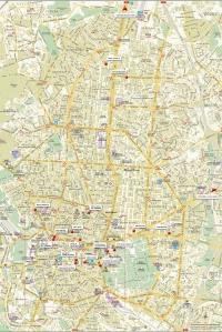 mapa madrid hoteles